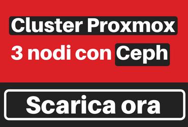 Cluster-Proxmox-3-nodi-con-Ceph-