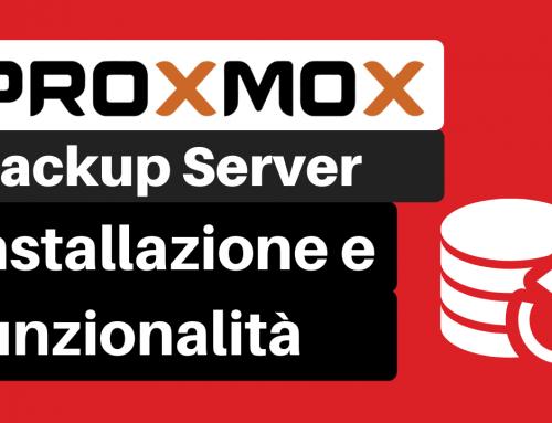 Proxmox Backup Server: Installazione e funzionalità