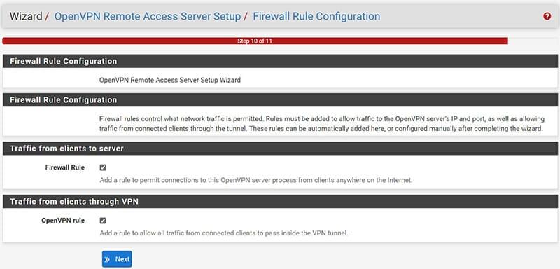 pfSenseOpenVPN Configurazione VPN Road Warrior-7
